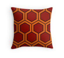 Burnt Honey Throw Pillow