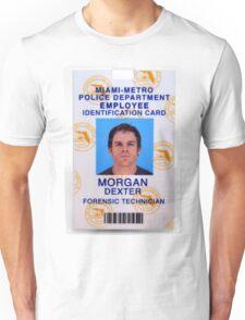 Morgan, Dexter Unisex T-Shirt
