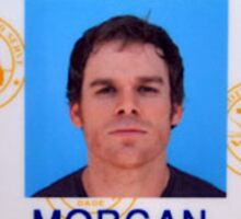 Morgan, Dexter Sticker