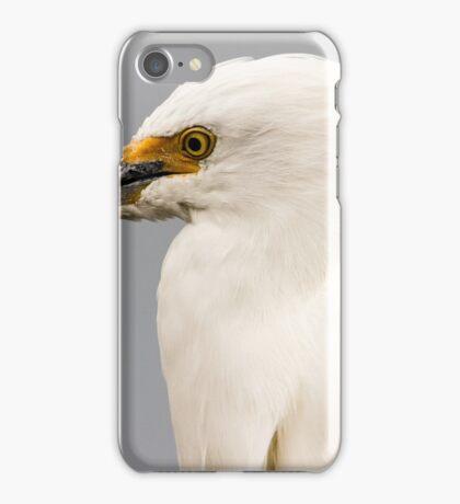 Snowy Egret Profile iPhone Case/Skin