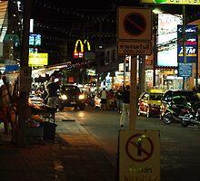 Night Life in Lamai by Fiona Allan Photography