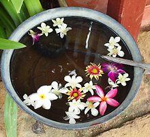 Flower Foot Bath by Fiona Allan Photography