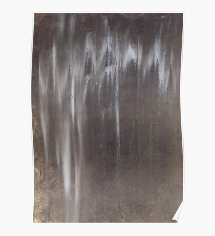 Raw Umber in the Rain Poster