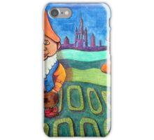 420 - LAND OF THE GNOMES - DAVE EDWARDS - COLOURED PENCILS - 2015 iPhone Case/Skin