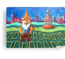 420 - LAND OF THE GNOMES - DAVE EDWARDS - COLOURED PENCILS - 2015 Canvas Print