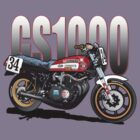 Wes Cooley Suzuki GS 1000 by Steve Harvey