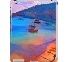 Mousehole Harbor, Cornwall - UK iPad Case/Skin