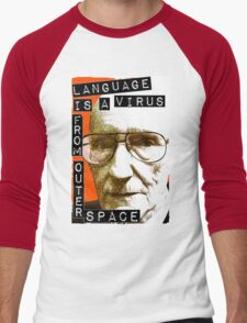 Language is a virus from outer space! Men's Baseball ¾ T-Shirt