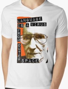 Language is a virus from outer space! Mens V-Neck T-Shirt