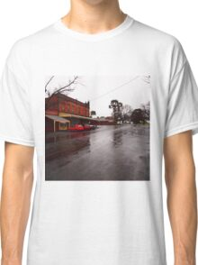 A wet day in Maldon VIC Australia Classic T-Shirt