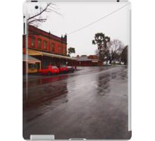 A wet day in Maldon VIC Australia iPad Case/Skin