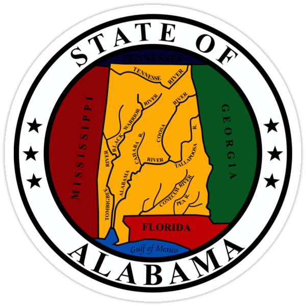 Alabama State Seal by GreatSeal