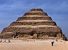Djoser's step pyramid  circa 2630 BC by Nancy Richard