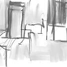 STUDIO INTERIOR(LONG TIME AGO)(C2009) by Paul Romanowski