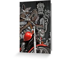 Let's Ride, Baby! Greeting Card
