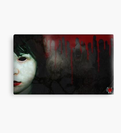 trapped within the nightmare Canvas Print