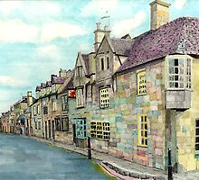 The Red Lion Chipping Camden Gloucestershire by doatley