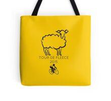 Tour De Fleece 2015 / Yellow Tote Bag