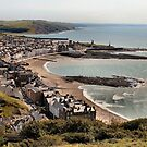 Aberystwyth from above by Yampimon