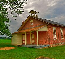 The Old School House by Monte Morton