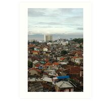 slum area Art Print