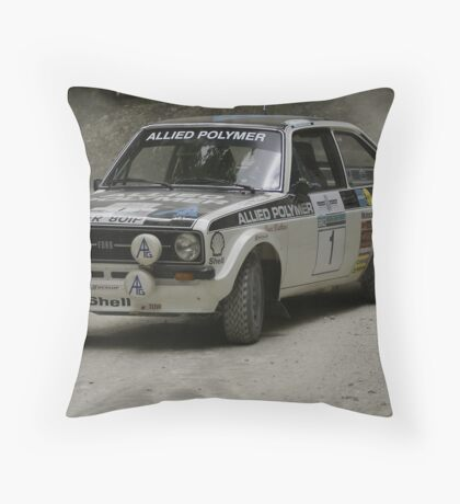 Rally Escort Throw Pillow