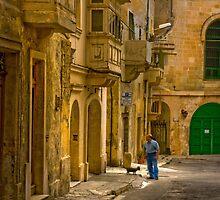 Urban Valletta Malta by Edwin  Catania