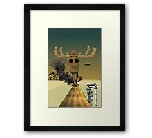Gorillaz 16-2000 Tribute Framed Print