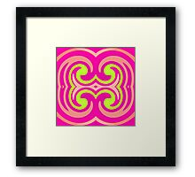 Psychedelic Swirl Framed Print