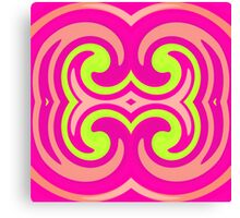 Psychedelic Swirl Canvas Print