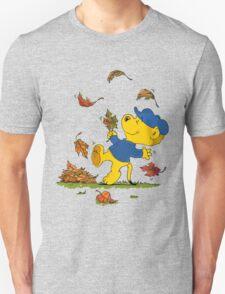 Ferald Dancing Amongst The Autumn Leaves Unisex T-Shirt
