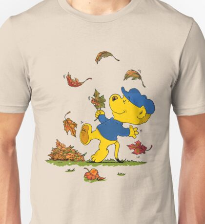 Ferald Dancing Amongst The Autumn Leaves T-Shirt