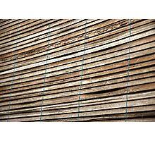 bamboo curtain Photographic Print