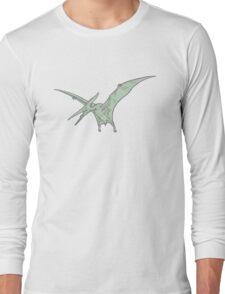 pterodactyl green  Long Sleeve T-Shirt