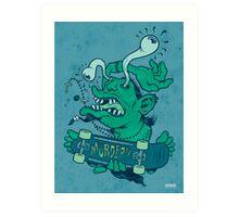 Shredder (subdued color) Art Print
