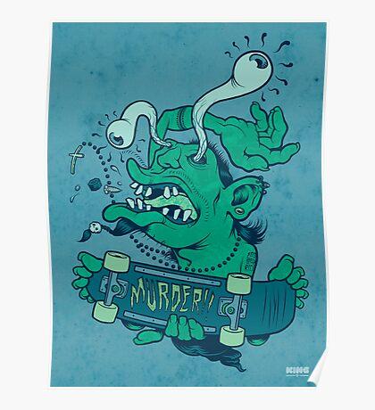 Shredder (subdued color) Poster