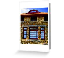 Fort Griswold Museum Windows Greeting Card