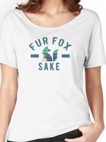 Fur Fox Sake Women's Relaxed Fit T-Shirt