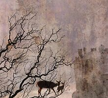 Deer Crossing the Sea by Feng Chen