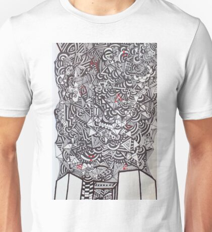 TOWERING ANXIETY - LARGE FORMAT - VERTICAL Unisex T-Shirt