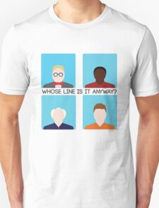 Whose Line is it Anyway? Take Two T-Shirt