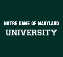 NOTRE DAME OF MARYLAND UNIVERSITY by HelenCard