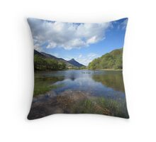 Pap of Glencoe and Loch Leven. Throw Pillow