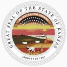 Kansas State Seal by GreatSeal