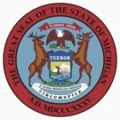 Michigan State Seal by GreatSeal