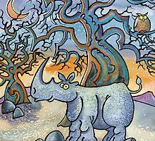 African, Animal, Antics by Dorian Spencer Davies by Dorian Davies