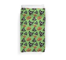 Trick or Treat Kitty Duvet Cover