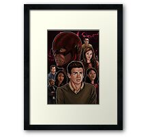 CW Flash Framed Print