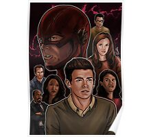 CW Flash Poster