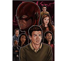 CW Flash Photographic Print